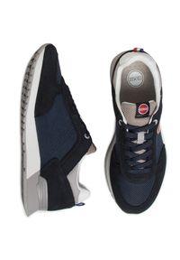 Colmar - Sneakersy COLMAR - Travis Colors 017 Navy/Lt Gray. Okazja: na co dzień. Kolor: niebieski. Materiał: skóra ekologiczna, materiał, zamsz. Szerokość cholewki: normalna. Styl: elegancki, casual