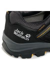 Czarne półbuty Jack Wolfskin