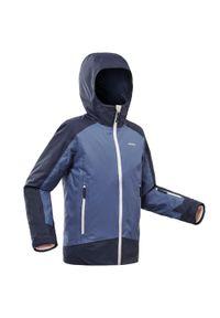 WEDZE - Kurtka narciarska 500 dla dzieci. Kolor: niebieski. Materiał: materiał. Sezon: zima. Sport: narciarstwo #1