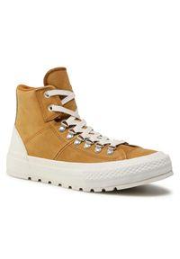 Converse Sneakersy Ctas Street Hiker Hi 153667C Brązowy. Kolor: brązowy