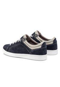 Geox Sneakersy U Warrens C U020LC 00022 C4002 Granatowy. Kolor: niebieski