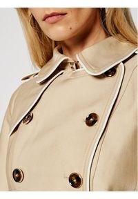 Beżowy płaszcz przejściowy Morgan De Toi