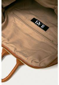 ANSWEAR - Answear - Plecak Answear Lab. Kolor: brązowy. Styl: wakacyjny