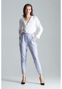 Szare spodnie Figl eleganckie