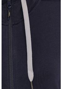 Niebieska bluza rozpinana CMP z kapturem, casualowa, na co dzień