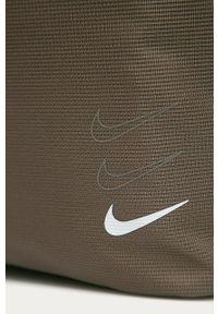 Brązowa shopperka Nike Sportswear duża, na ramię