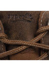 Superfit - Trapery SUPERFIT - GORE-TEX 8-00473-30 M Braun. Kolor: brązowy. Materiał: skóra, welur, materiał. Sezon: zima, jesień