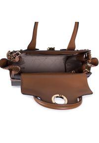 Brązowa torebka klasyczna Michael Kors