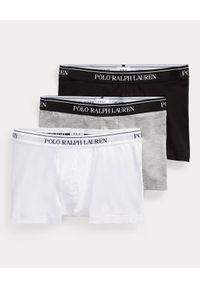 Ralph Lauren - RALPH LAUREN - Bokserki (3-pack). Kolor: szary. Materiał: bawełna, materiał