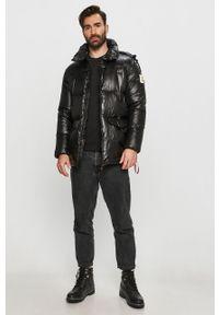 Czarna kurtka After Label na co dzień, casualowa, z kapturem