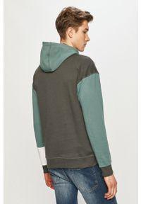 Zielona bluza nierozpinana Only & Sons na co dzień, z kapturem, casualowa