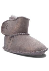 EMU Australia Buty Baby Bootie Metallic B11428 Szary. Kolor: szary