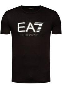 Czarny t-shirt EA7 Emporio Armani #5