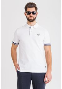 T-shirt JOOP! Jeans w jednolite wzory, polo