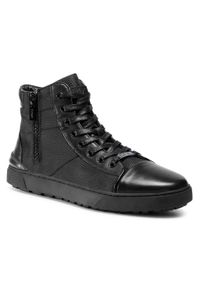 Czarne sneakersy GOE z cholewką, na co dzień