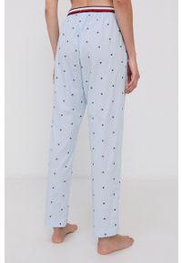 TOMMY HILFIGER - Tommy Hilfiger - Spodnie piżamowe. Kolor: niebieski. Materiał: bawełna