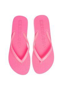 Superdry Japonki Super Sleek Fluro Flip Flop WF310008A Różowy. Kolor: różowy #4