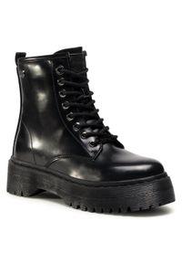 Czarne buty trekkingowe Refresh z cholewką