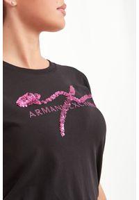 Armani Exchange - T-SHIRT ARMANI EXCHANGE. Okazja: na co dzień. Materiał: materiał. Styl: casual