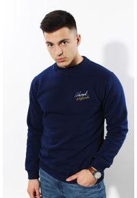 Edward Orlovski - Bluza Classic Navy. Materiał: bawełna