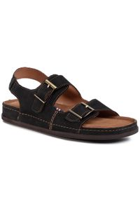 Czarne sandały Go Soft