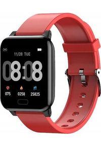 Smartwatch Bakeeley L8 Czerwony (3112-uniw). Rodzaj zegarka: smartwatch. Kolor: czerwony