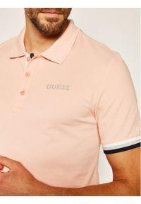 Różowa koszulka polo Guess polo
