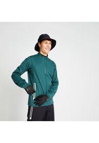 INESIS - Kurtka do golfa męska RW500 przeciwdeszczowa. Typ kołnierza: golf. Materiał: materiał, poliester. Sport: golf