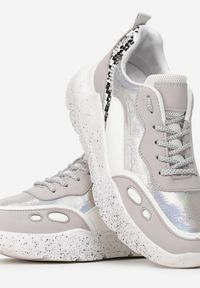 Born2be - Szare Sneakersy Callan. Kolor: szary