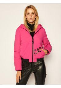 Różowa kurtka puchowa Calvin Klein Jeans