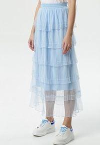 Niebieska spódnica Born2be