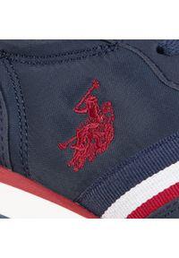 Niebieskie półbuty U.S. Polo Assn z cholewką #7