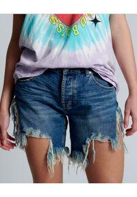 ONETEASPOON - Szorty damskie Frankies Rodeo Blue. Stan: obniżony. Kolor: niebieski. Materiał: jeans
