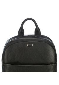Czarny plecak Wittchen z aplikacjami, casualowy