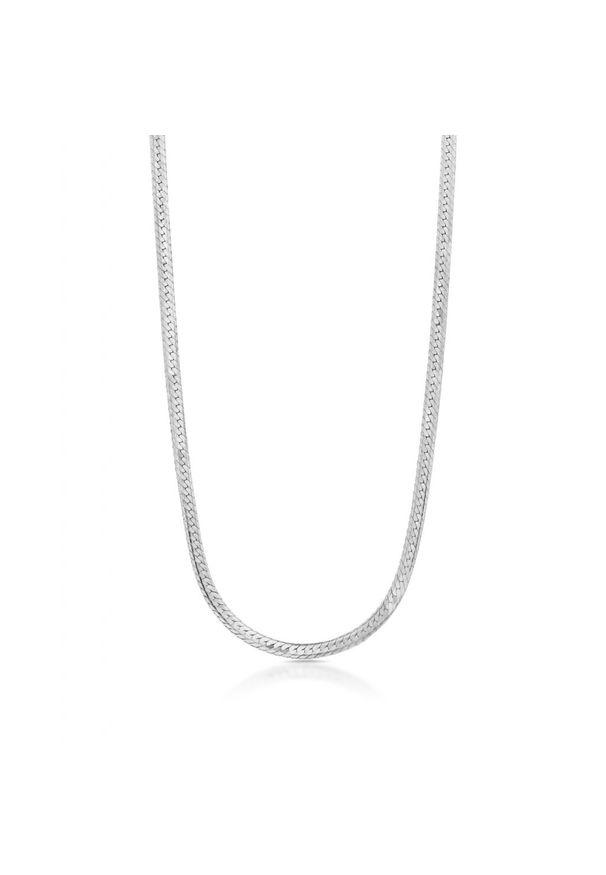 W.KRUK Wyjątkowy Naszyjnik - srebro 925 - SCR/NS050. Materiał: srebrne. Wzór: ze splotem