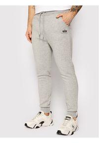 Szare spodnie dresowe Alpha Industries