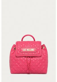 Love Moschino - Plecak. Kolor: różowy