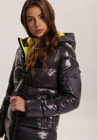 Szara kurtka pikowana Renee