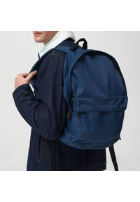 Sinsay - Plecak - Granatowy. Kolor: niebieski