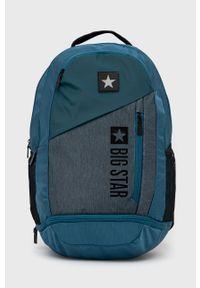 Big Star Accessories - Plecak. Kolor: zielony