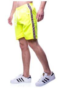 Żółte szorty Recea krótkie