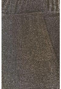 Srebrne spodnie materiałowe Jacqueline de Yong