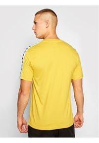Kappa T-Shirt Hanno 308011 Żółty Regular Fit. Kolor: żółty #2