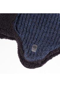 Niebieska czapka zimowa PaMaMi