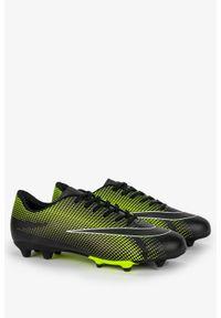 Casu - Czarne buty sportowe korki sznurowane casu 21m3/m. Kolor: czarny