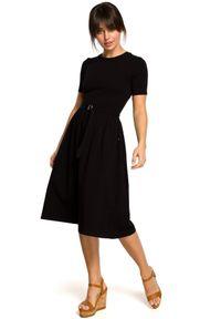 Sukienka z krótkim rękawem, na lato