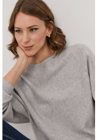 Noisy may - Noisy May - Sweter. Kolor: szary. Długość rękawa: długi rękaw. Długość: długie