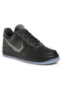 Czarne półbuty Nike klasyczne, z cholewką, na co dzień