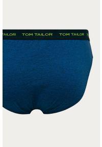 Niebieskie majtki Tom Tailor z nadrukiem