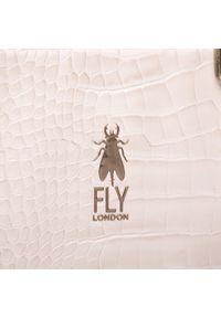 Fly London - Torebka FLY LONDON - Kipling P974712002 Off White. Kolor: beżowy. Materiał: skórzane